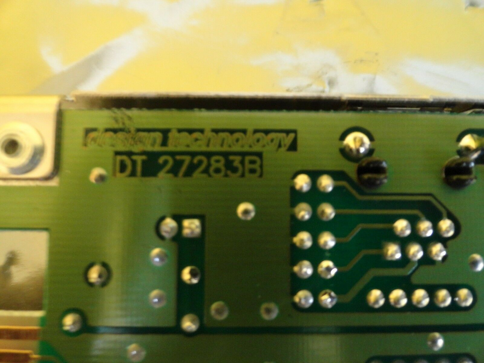 DTI Design Technology 27280-001 Sync PCB Therma-Wave 14-012176 Opti-Probe 2600B
