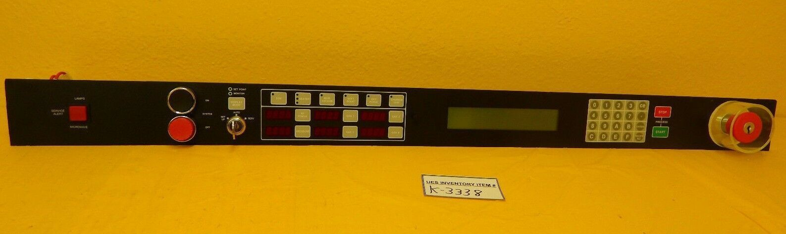 GaSonics A95-108-02 LED and Interface Control Panel PCB Rev. J A89-013-01 Used