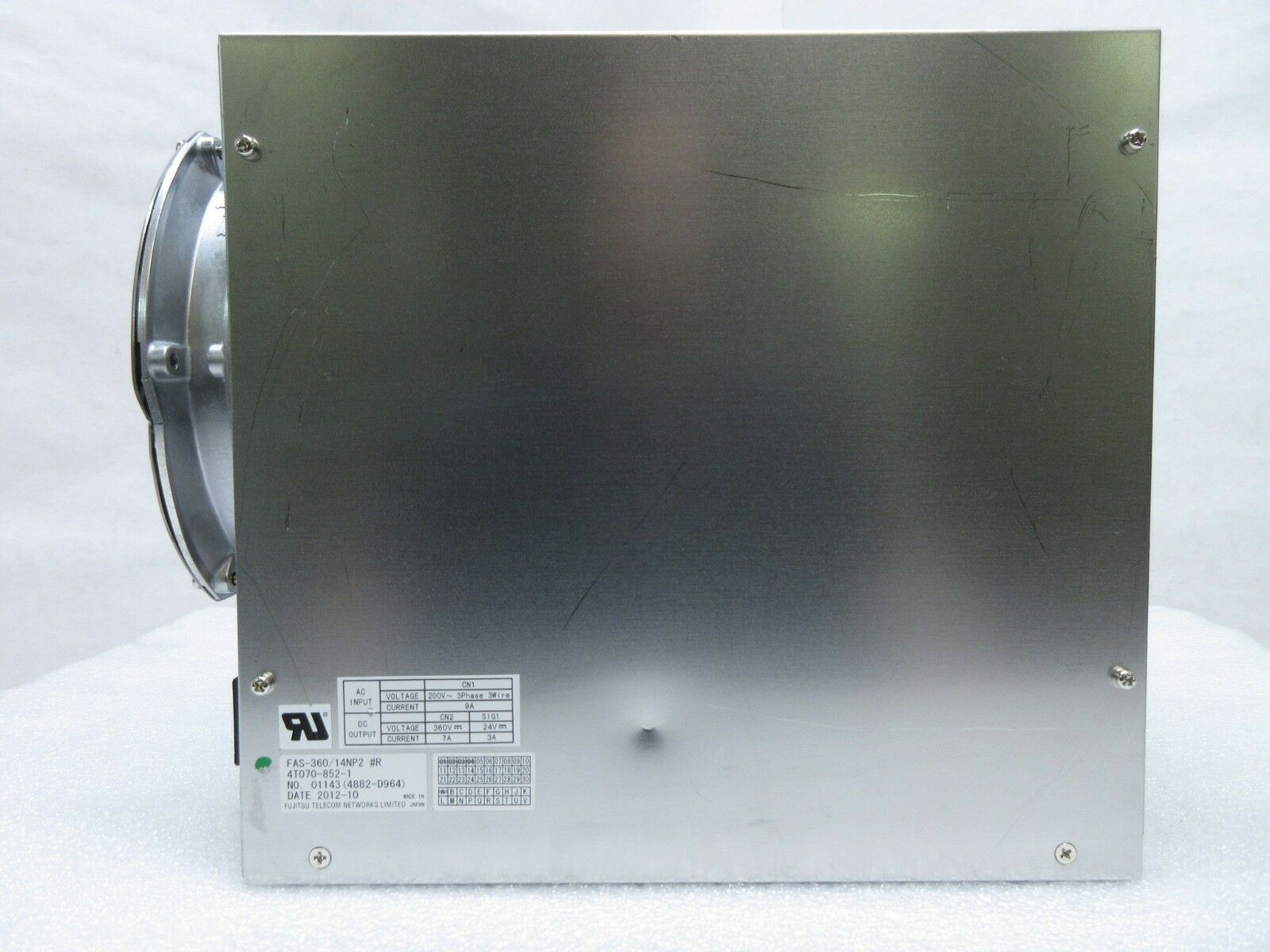 Fujitsu FAS-360/14NP2 Power Supply Nikon 4T070-852-1 NSR-S620D Immersion Used