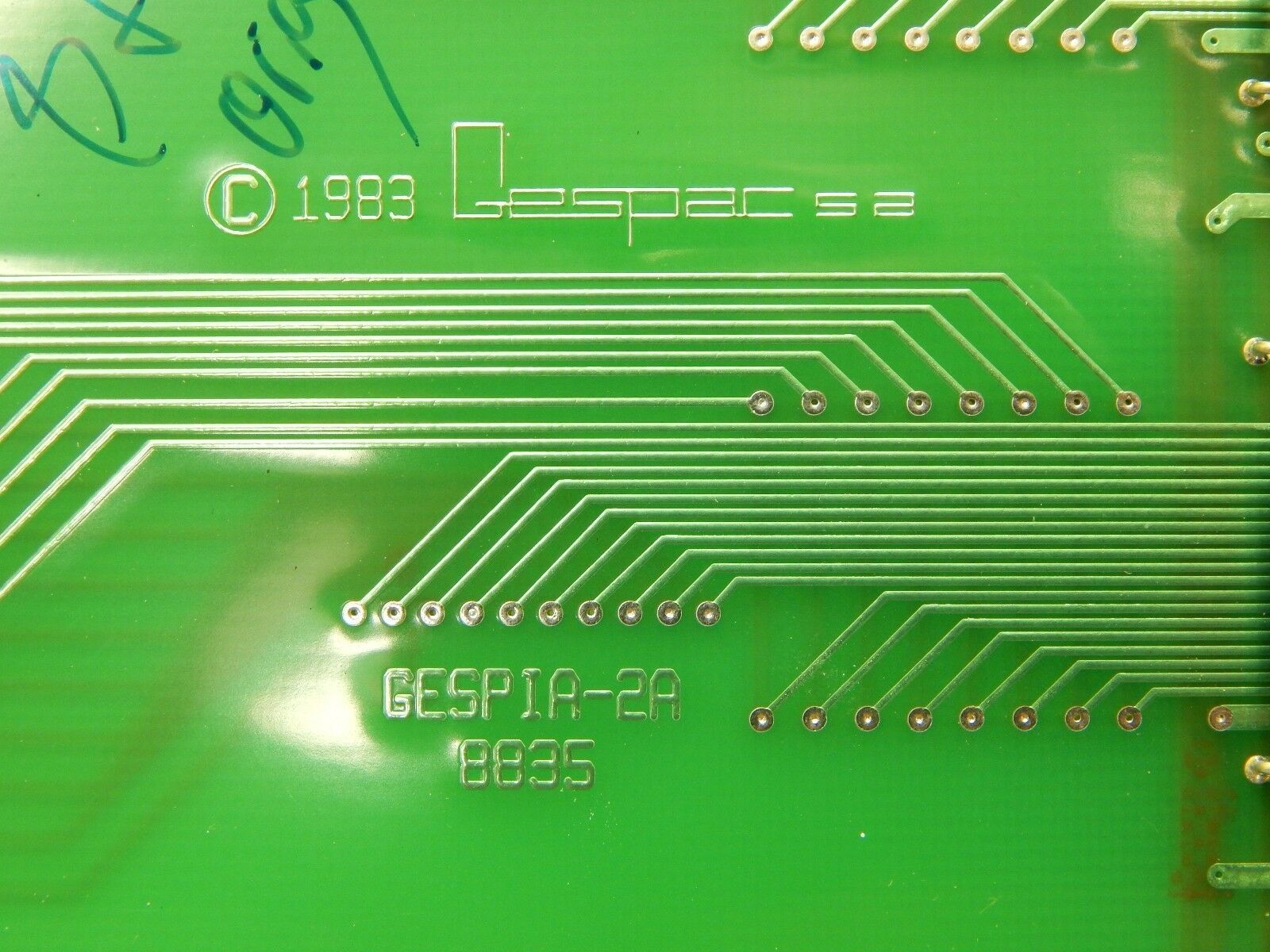 Gespac GESPIA-2A 8835 PCB Card PIA-2A OnTrak DSS-200 Used Working