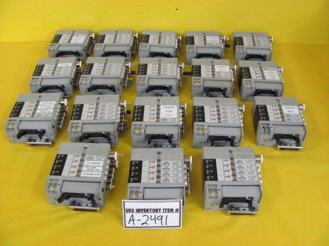 CKD N3S010 Solenoid Valve Manifold N4S0-T50 0.2-0.7MPa 12VDC Lot of 18 Used