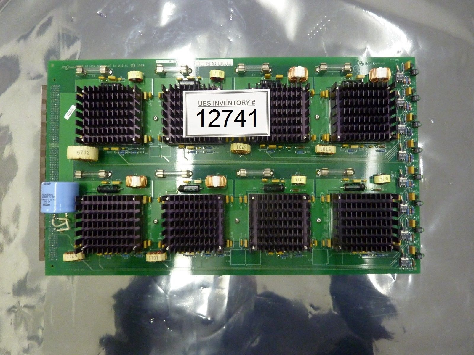 KLA-Tencor 710-611487-001 Image Computer DC PCB Card 073-611487-000 Used Working