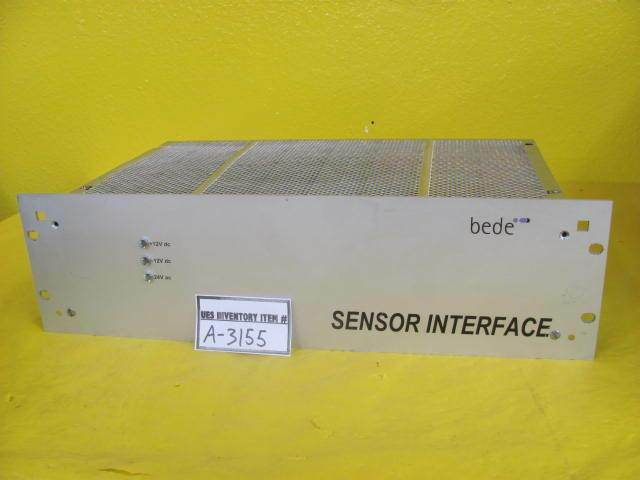 Bede Scientific Instruments 60-013041-000 Sensor Interface FAB300 Used Working