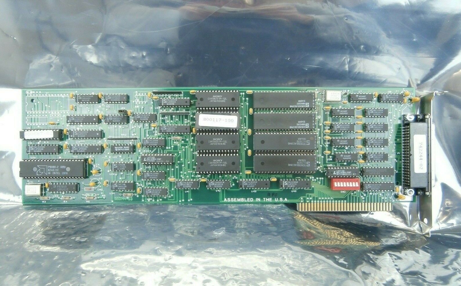 Star Gate Tech 742244-02 Communications PCB Card 500144-03 Lumonics LW-CO2 Used