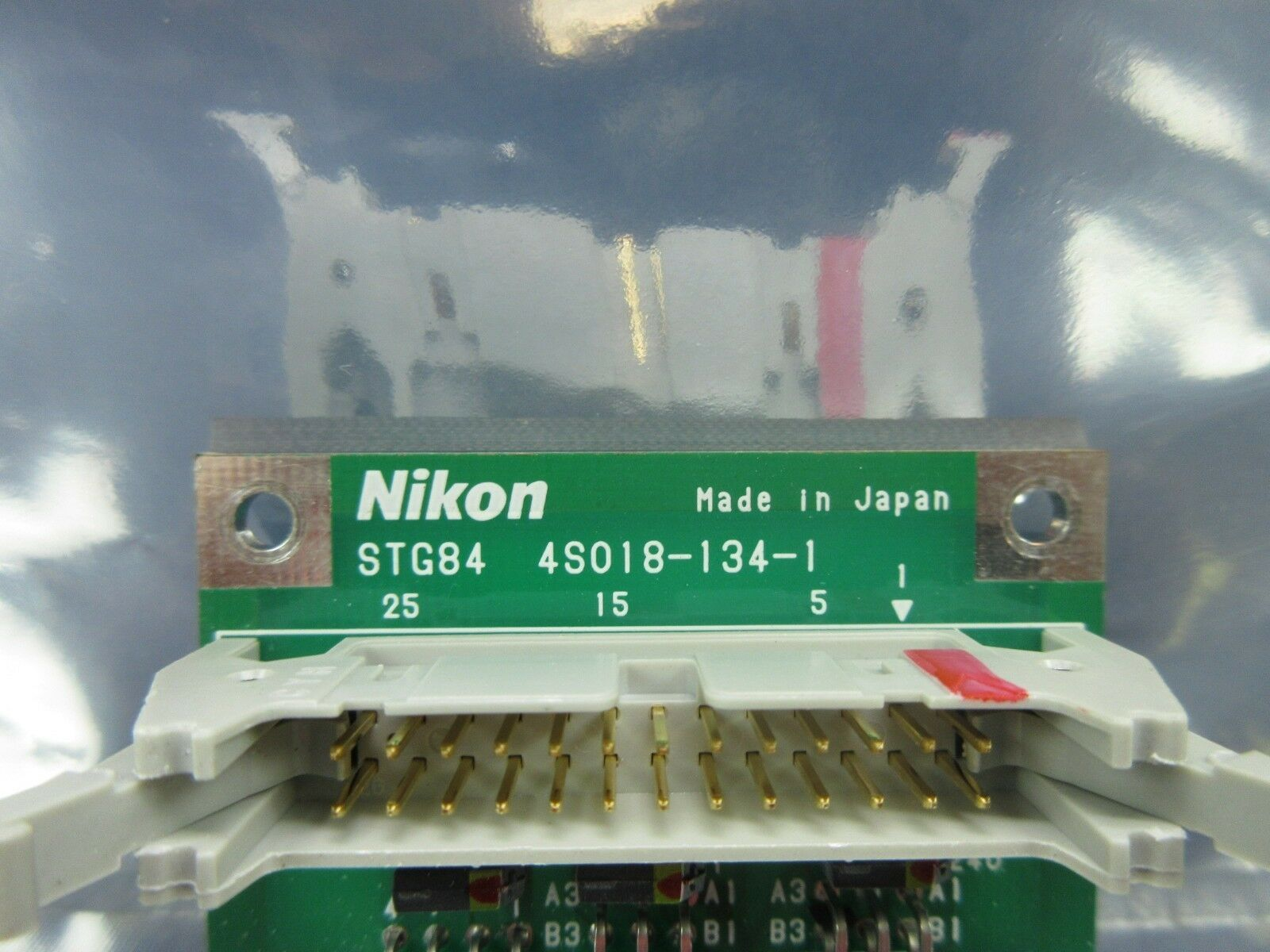 Nikon 4S018-134-1 Interface Relay Board PCB STG84 NSR-S202A Used Working