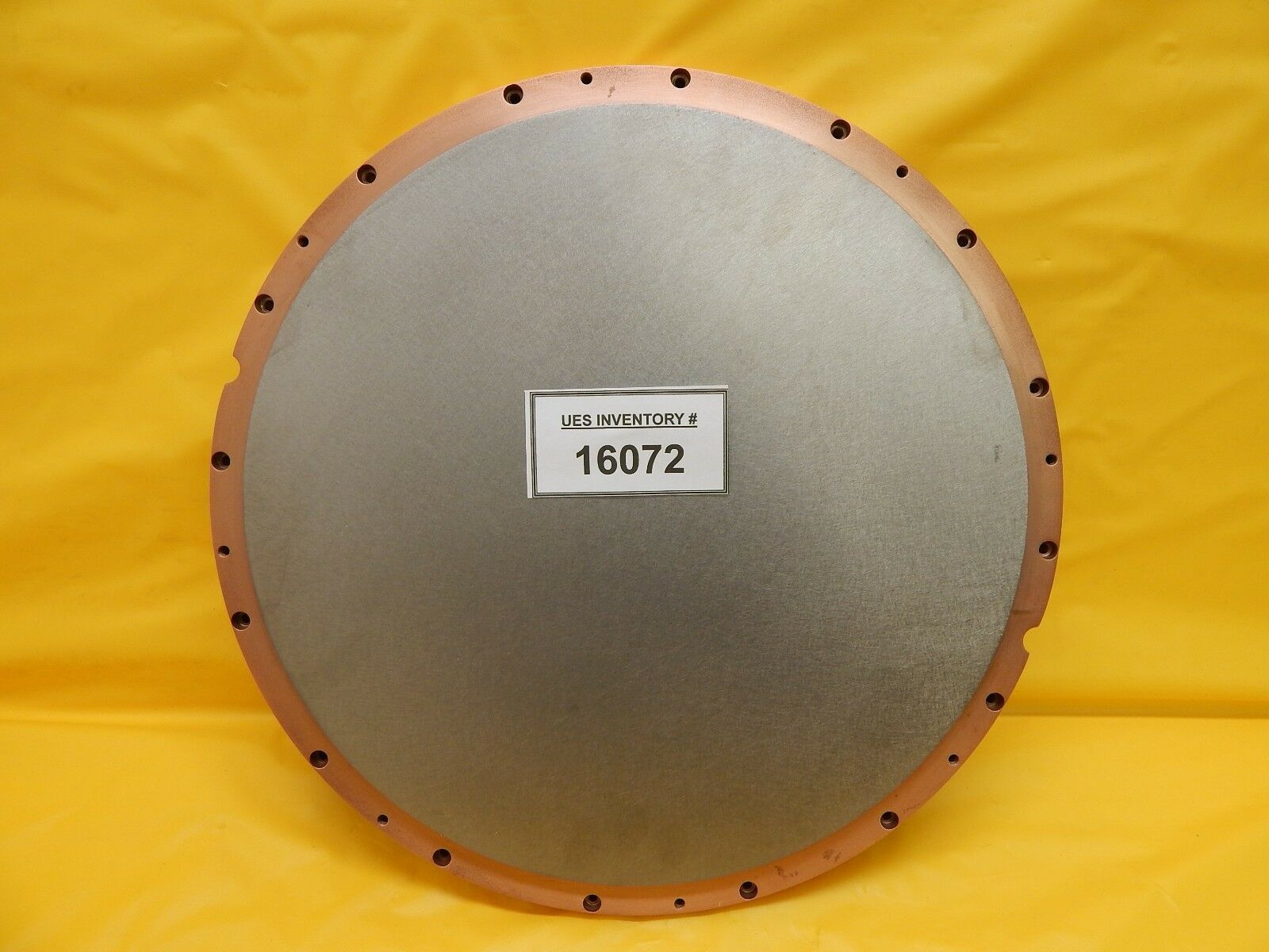 Materion Microelectronics ZTH-7179 Ti Titanium Target for Nordiko Used Working