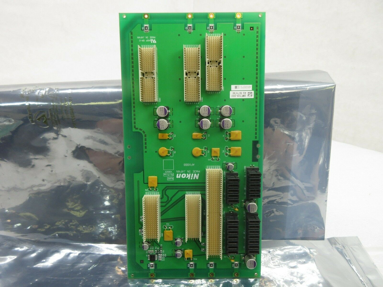 Nikon AFX8BB Backplane Interface Board PCB NSR System Used Working