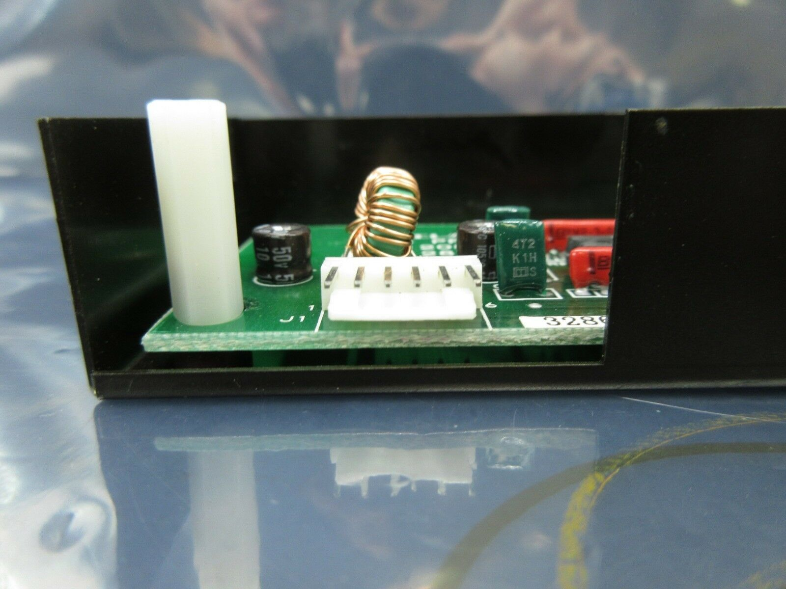 TEL Tokyo Electron 1208-001195-11 Pre Align Amp PCB 78 1281-001195-11 P-8 Used