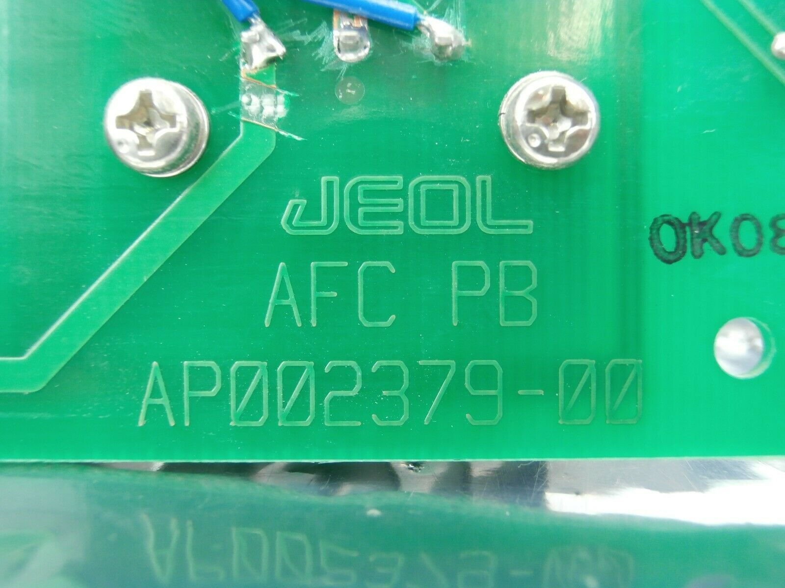 JEOL AP002379-00 Processor Board PCB Card AFC PB TN JSM-6400F Used Working