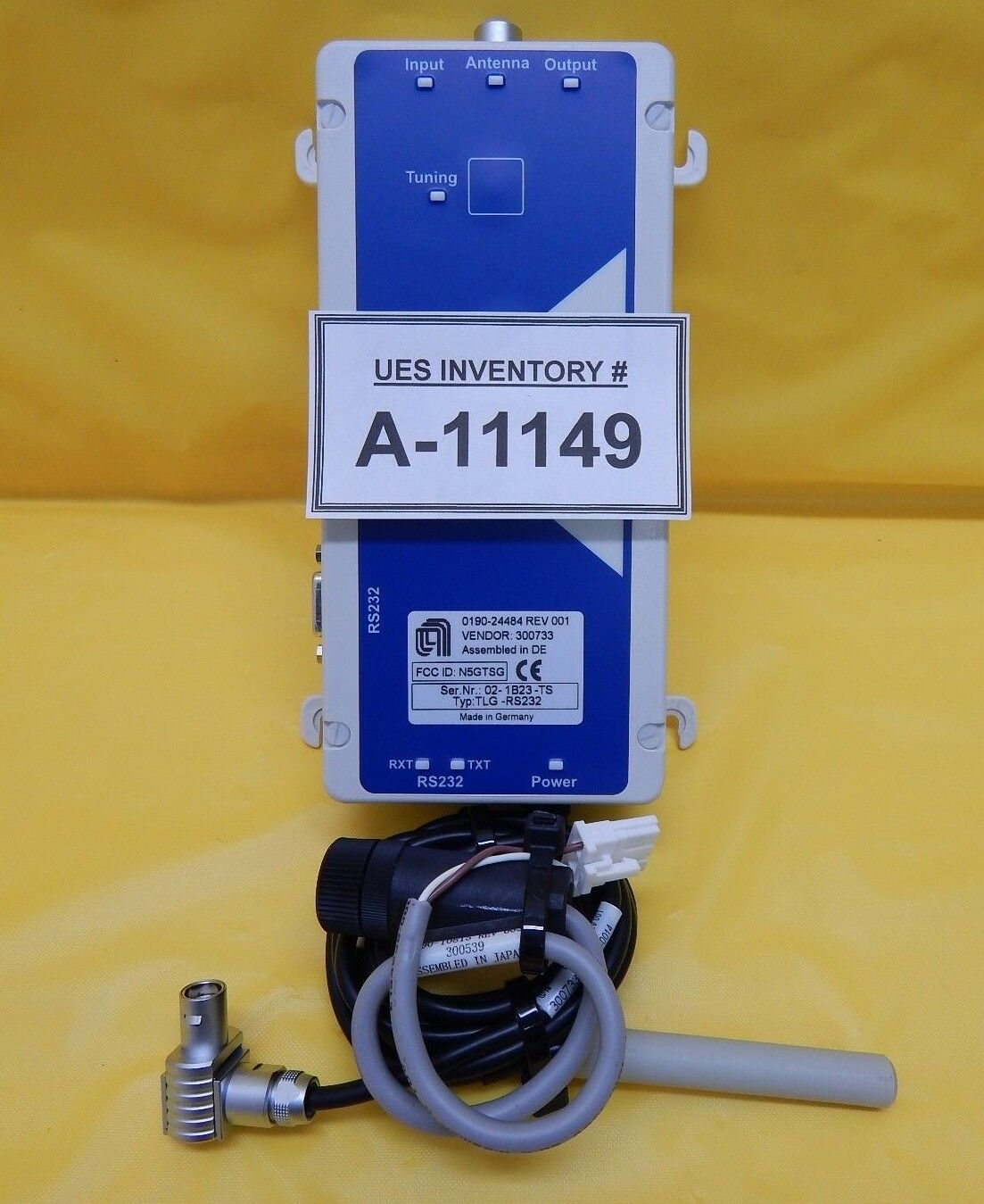 AMAT Applied Materials 0190-24484 Transponder Reader with Sensor 0190-10813 Used