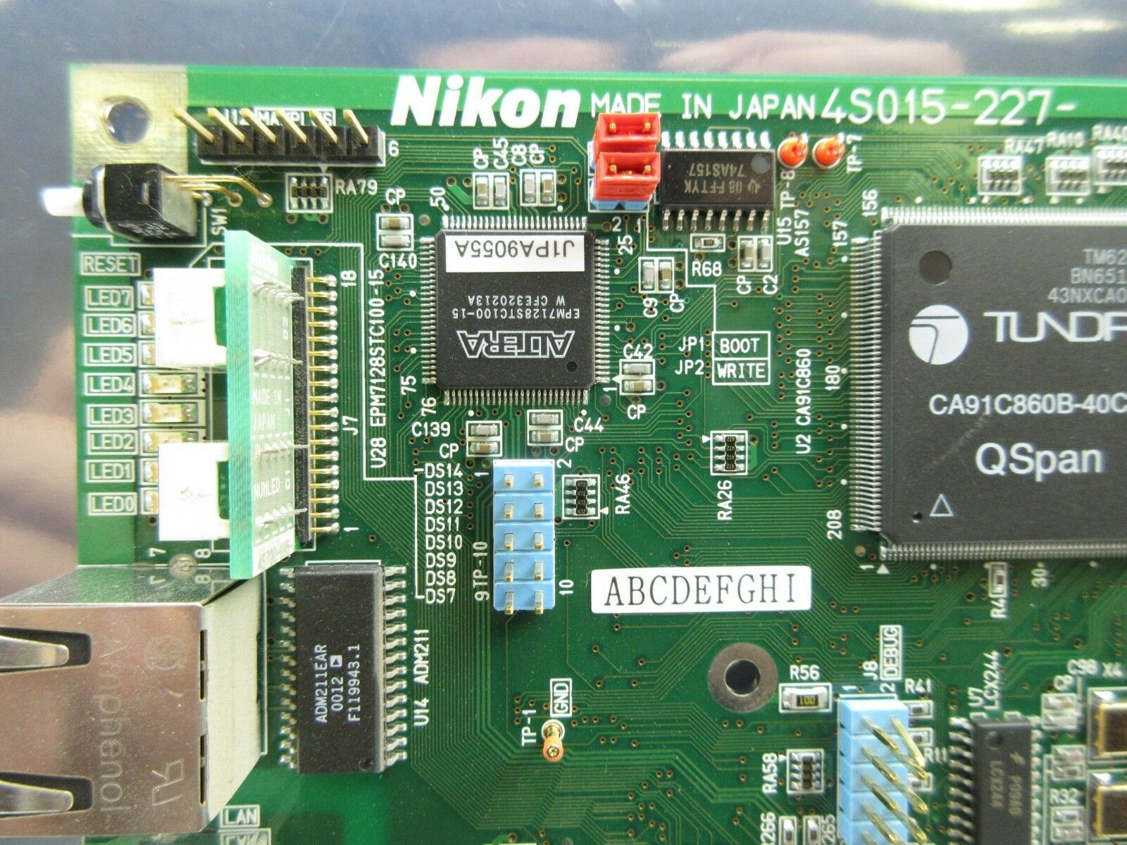 Nikon 4S015-227 Network Interface Board PCB NK8601A NSR-S306C Used Working