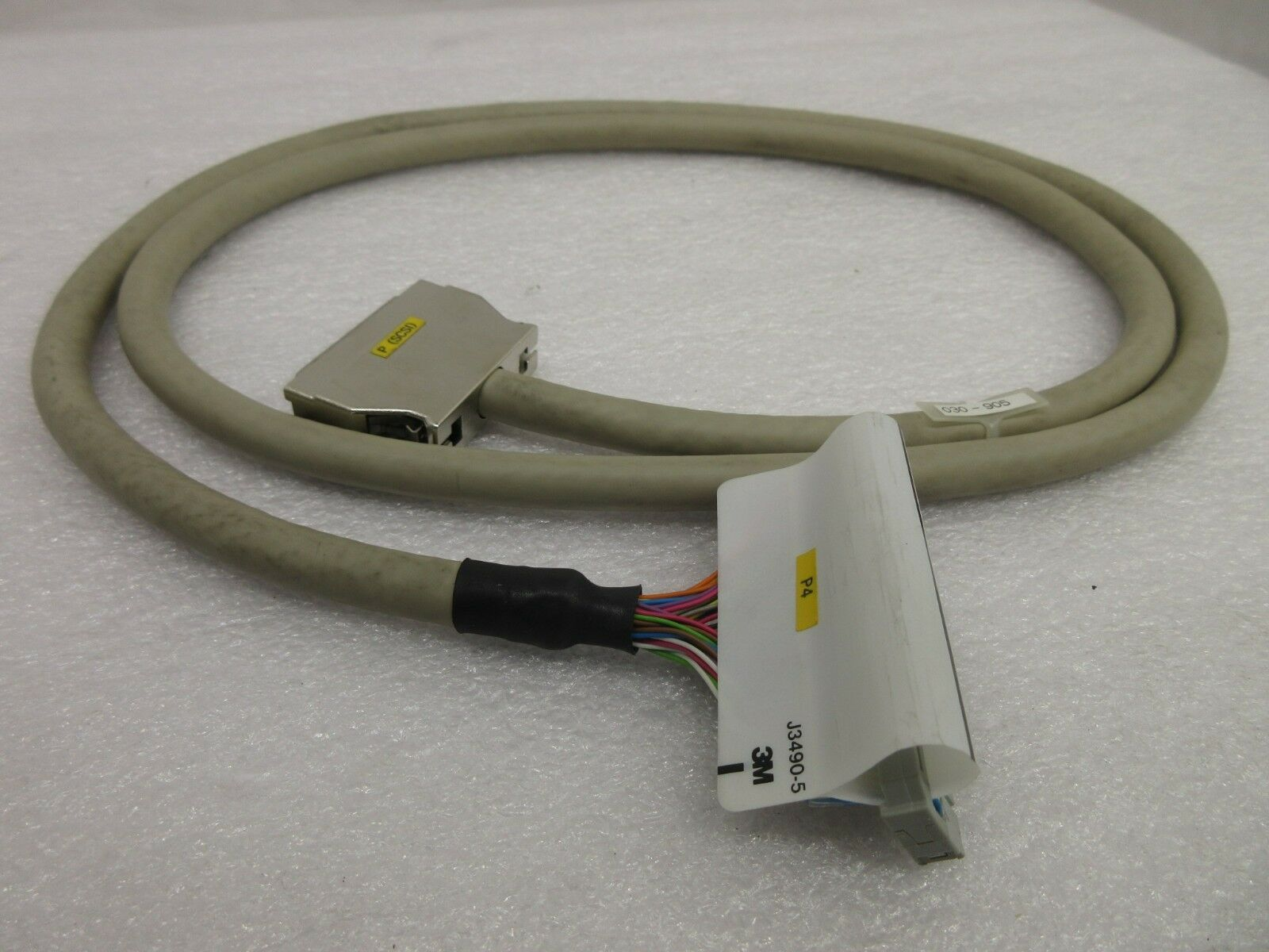 Nikon 030-905 P (SCSI) SG Rack Data Cable NSR-S202A Step-and-Repeat Used Working