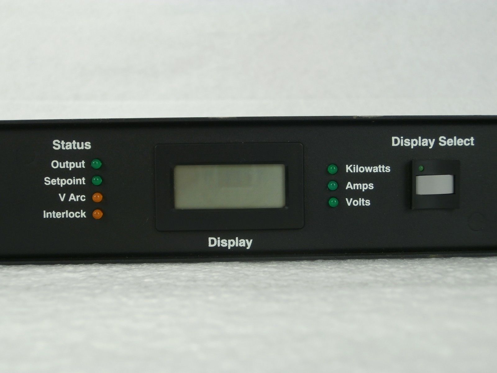 MDX-L AE Advanced Energy 3152334-000 B Interface Monitor Display Panel Used