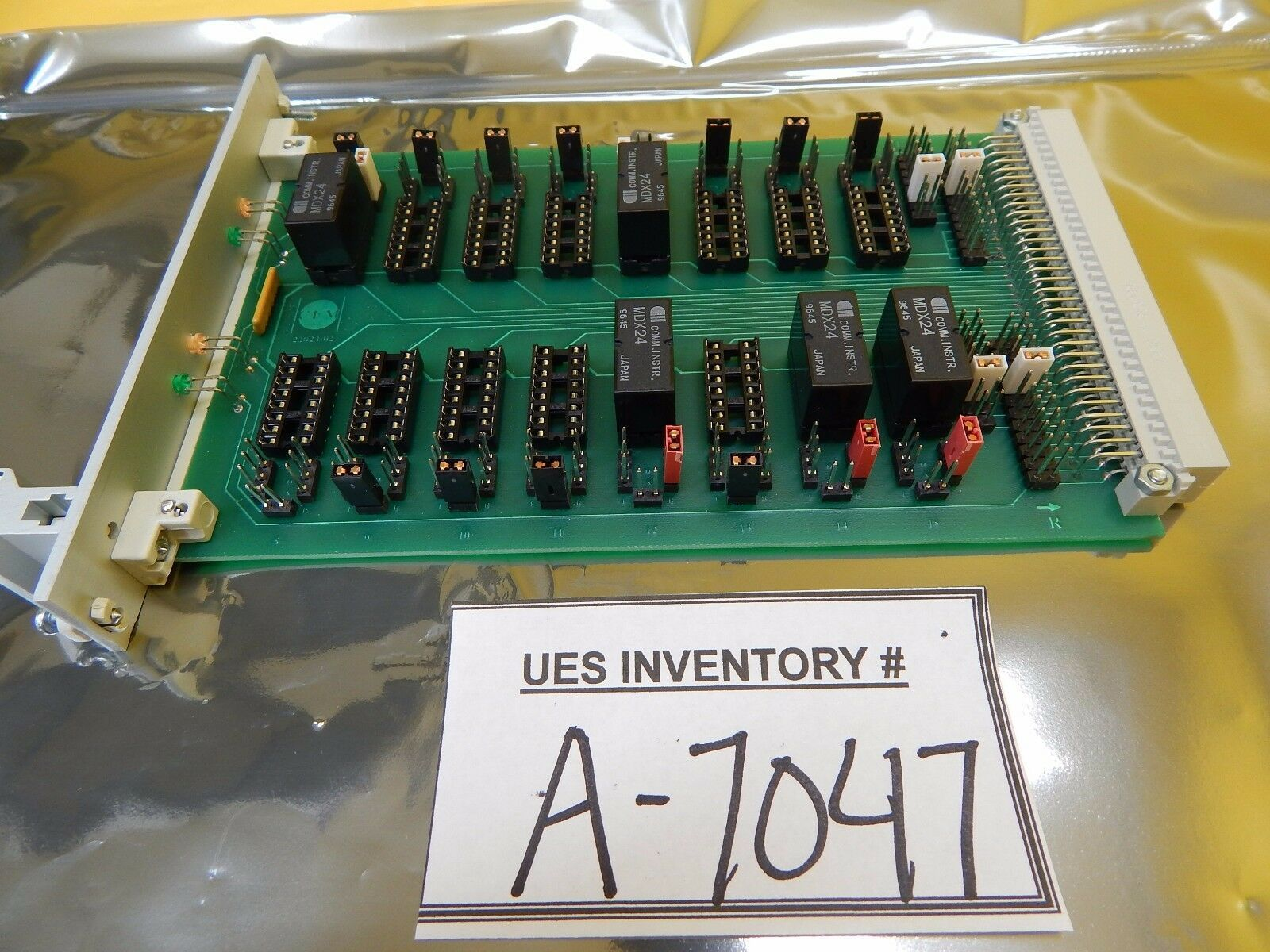 CFM Technologies 22024-02 Relay PCB Card B11/10 B11/09 Used Working