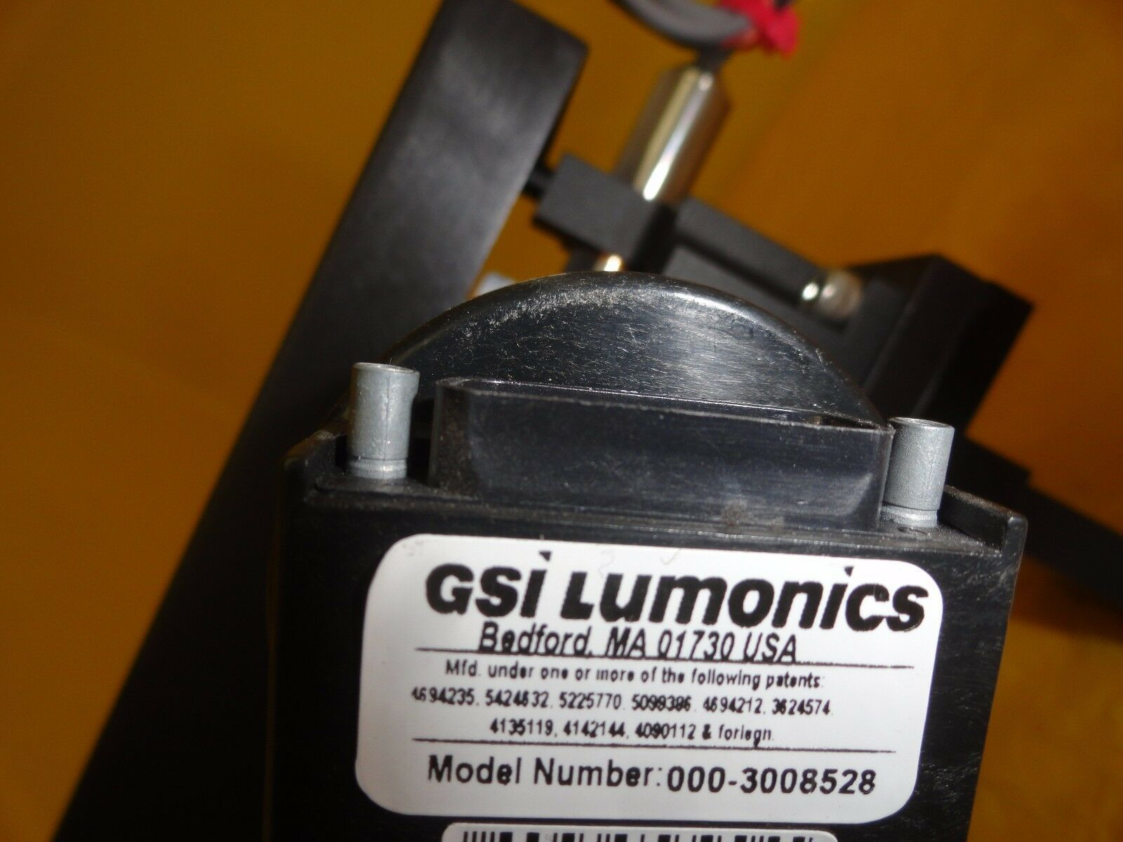 KLA-Tencor CRS-3000 Optical Assembly GSI Lumonics 000-3008528 Used Working