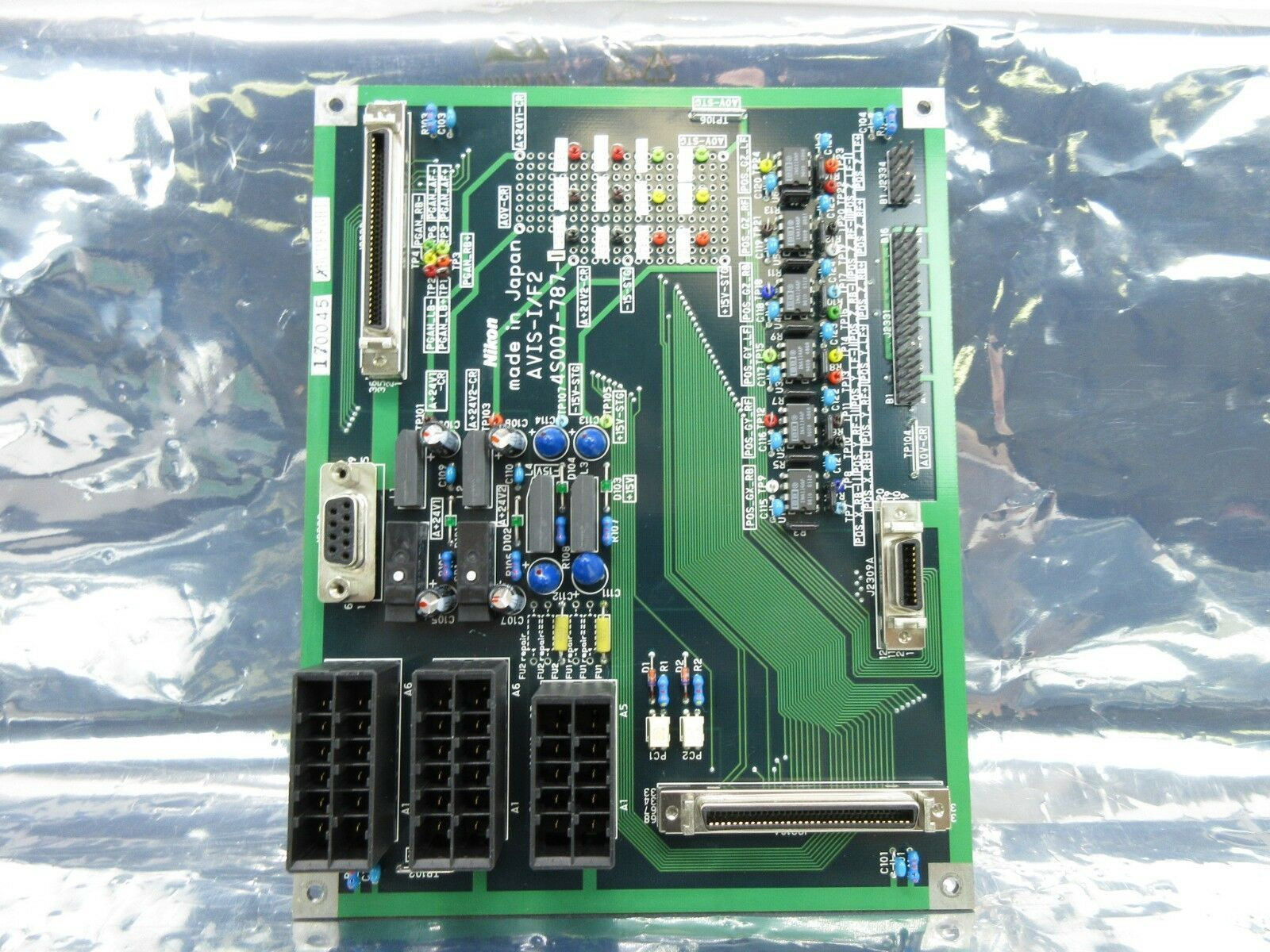 Nikon 4S007-787-1 Interface Board PCB AVIS-I/F2 NSR-S202A Used Working