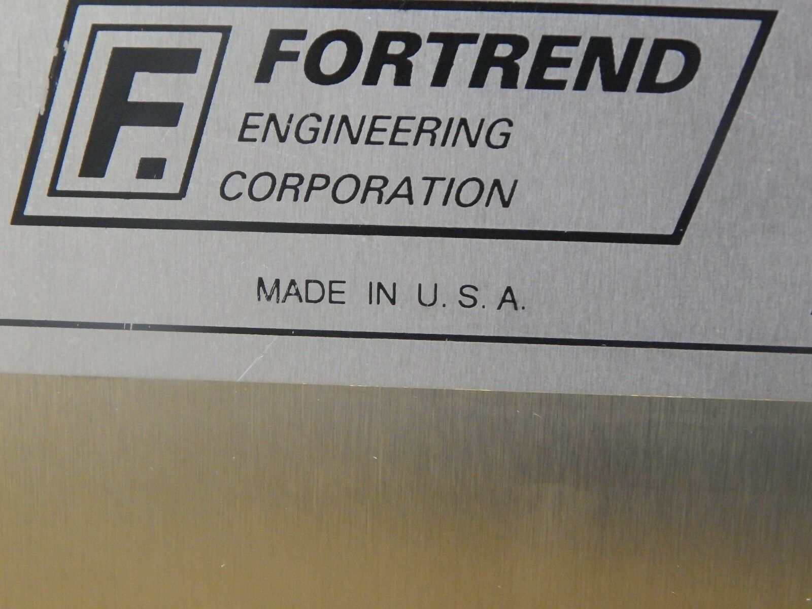 Fortrend F-8225S 200mm Automatic Wafer Transfer Machine Used Tested Working