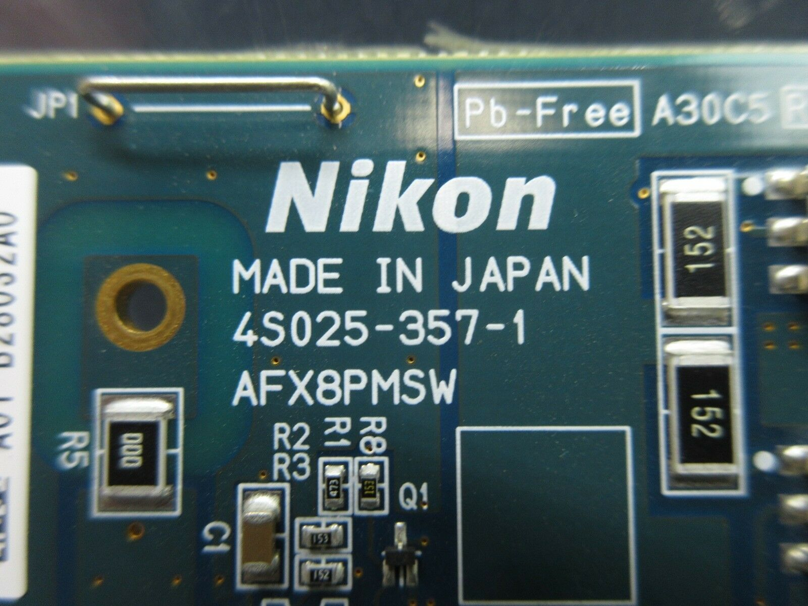 Nikon 4S025-357-1 Interface Board PCB NSR System Used Working