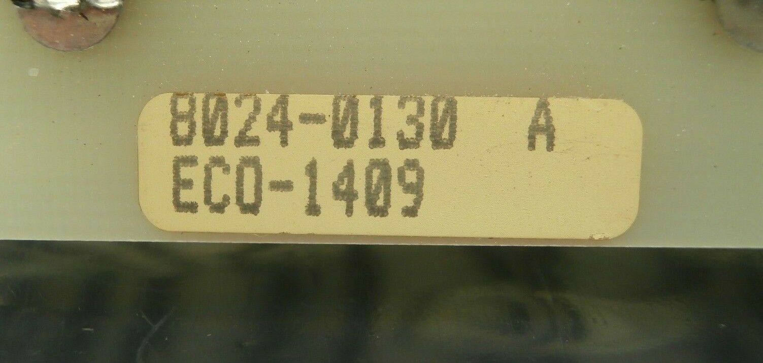 SCI Solid Controls 428-628 Fuse Board PCB Card VSE 8024-0130 Used Working
