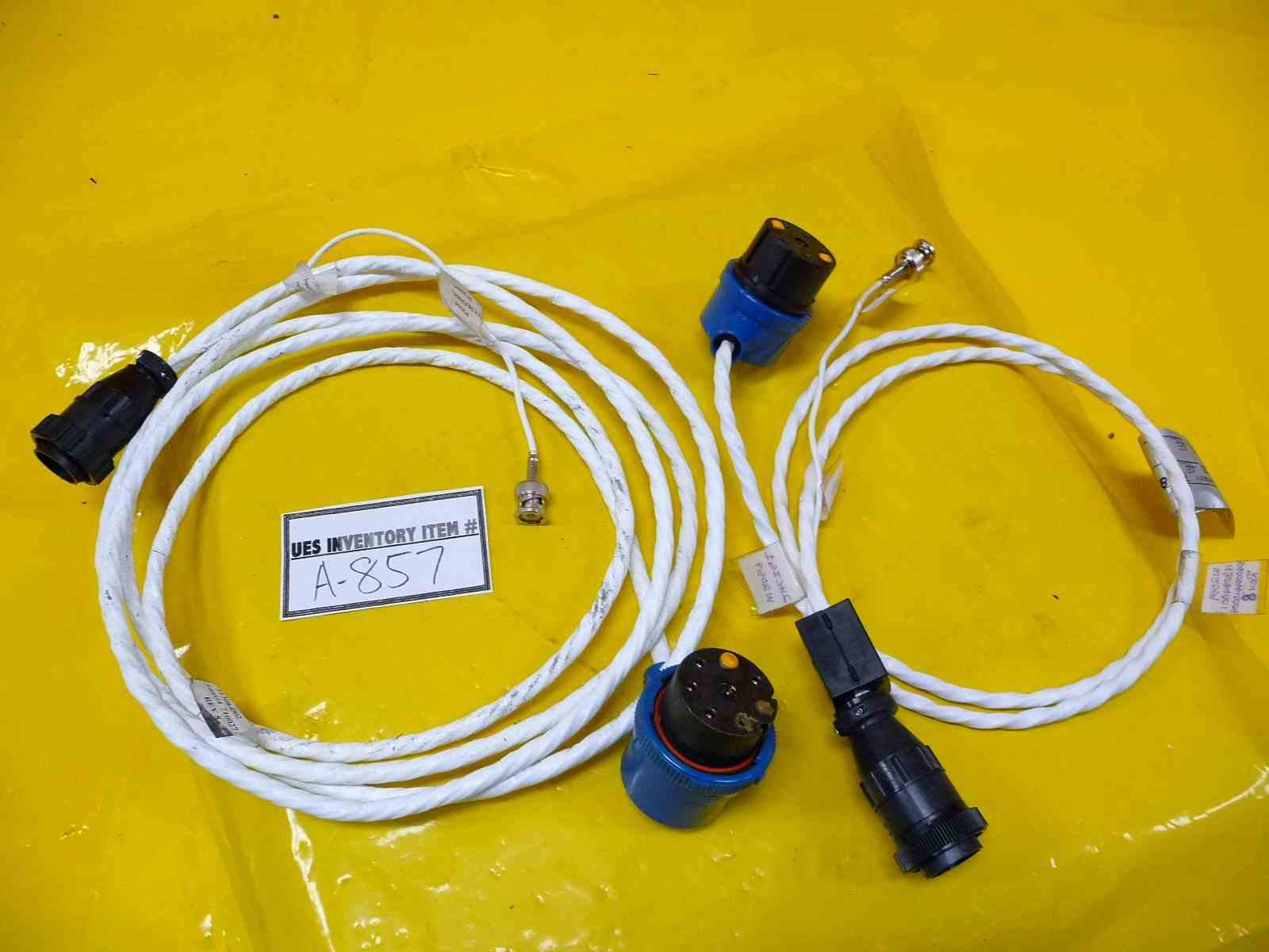 Granville-Phillips 113084001 Convectron Gauge Cables Lot of 2 Used Working