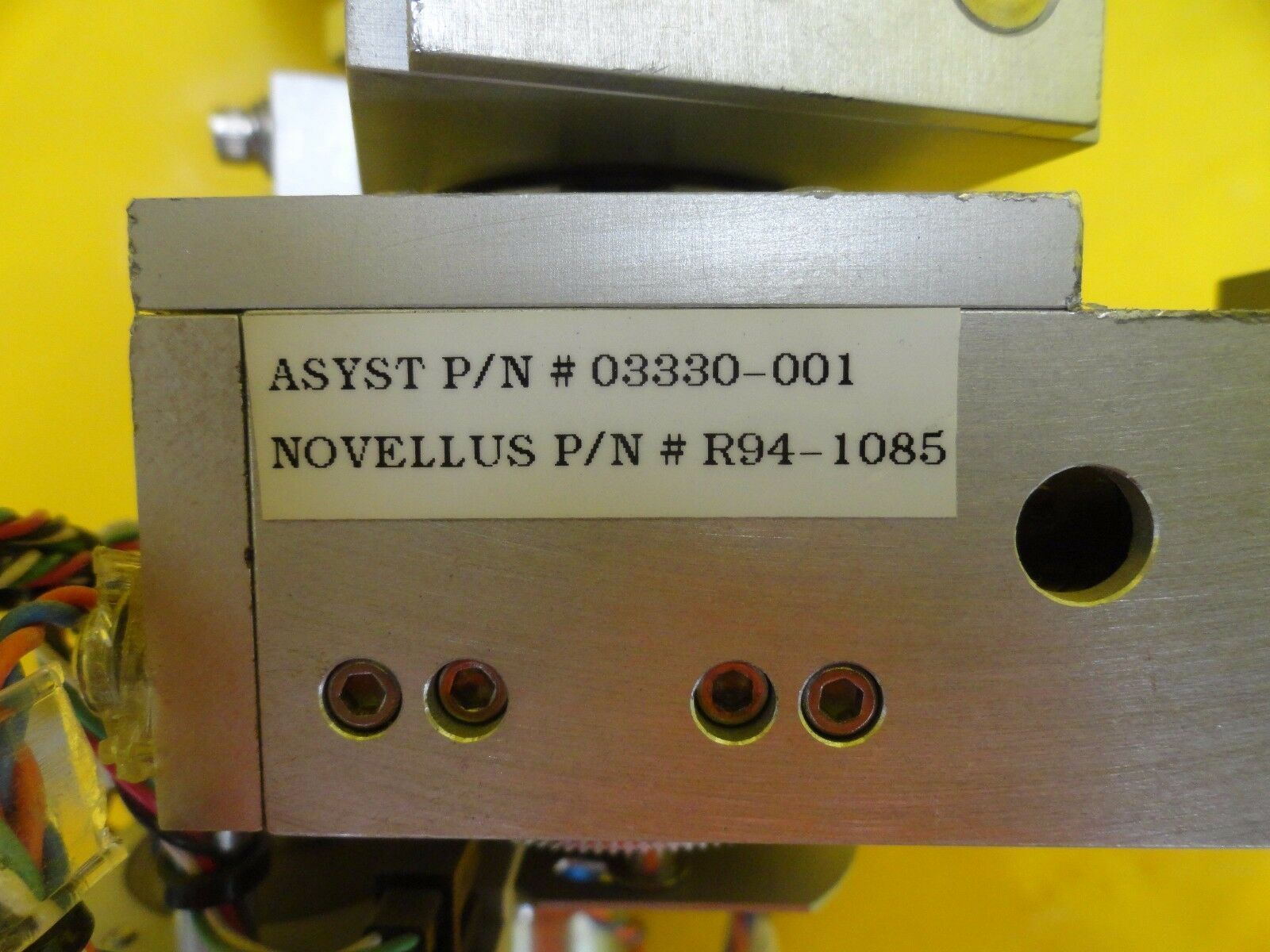Asyst 03330-001 Theta Arm Transport Unit Hine Novellus 94-1085 Aura 2000LL Used