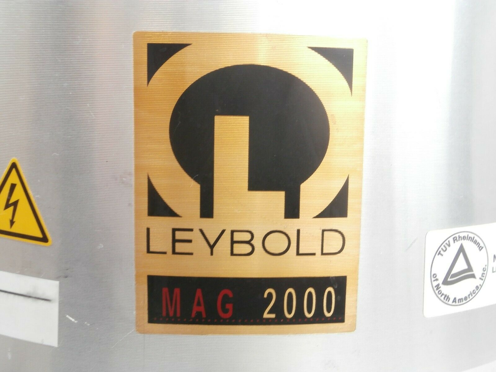 MAG 2000 Leybold 12131 Turbomolecular Pump Turbo 57571 Hours Tested Working