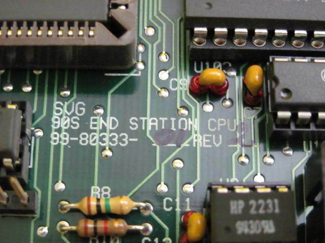 SVG Silicon Valley Group 99-80333-01 Rev. 2 End Station CPU Board 90S Used