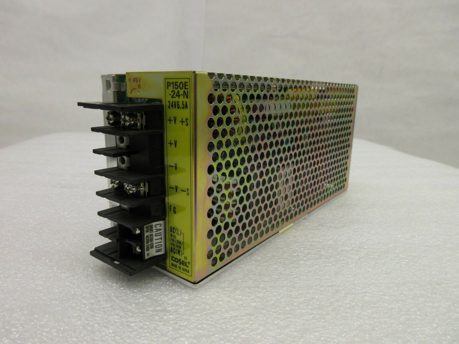 Cosel P150E-24-N Power Supply P150E-24 Used Working