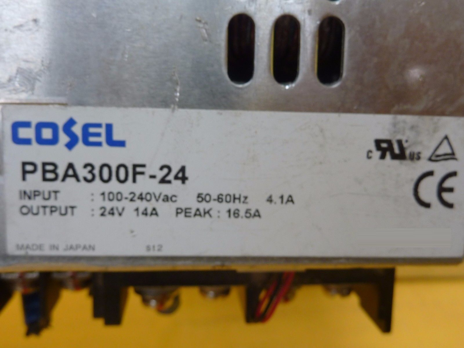Cosel PBA300F-24 Power Supply MMC100A-2-N K10AU-5 R25A-12 P15E-5N Lot of 6 Used