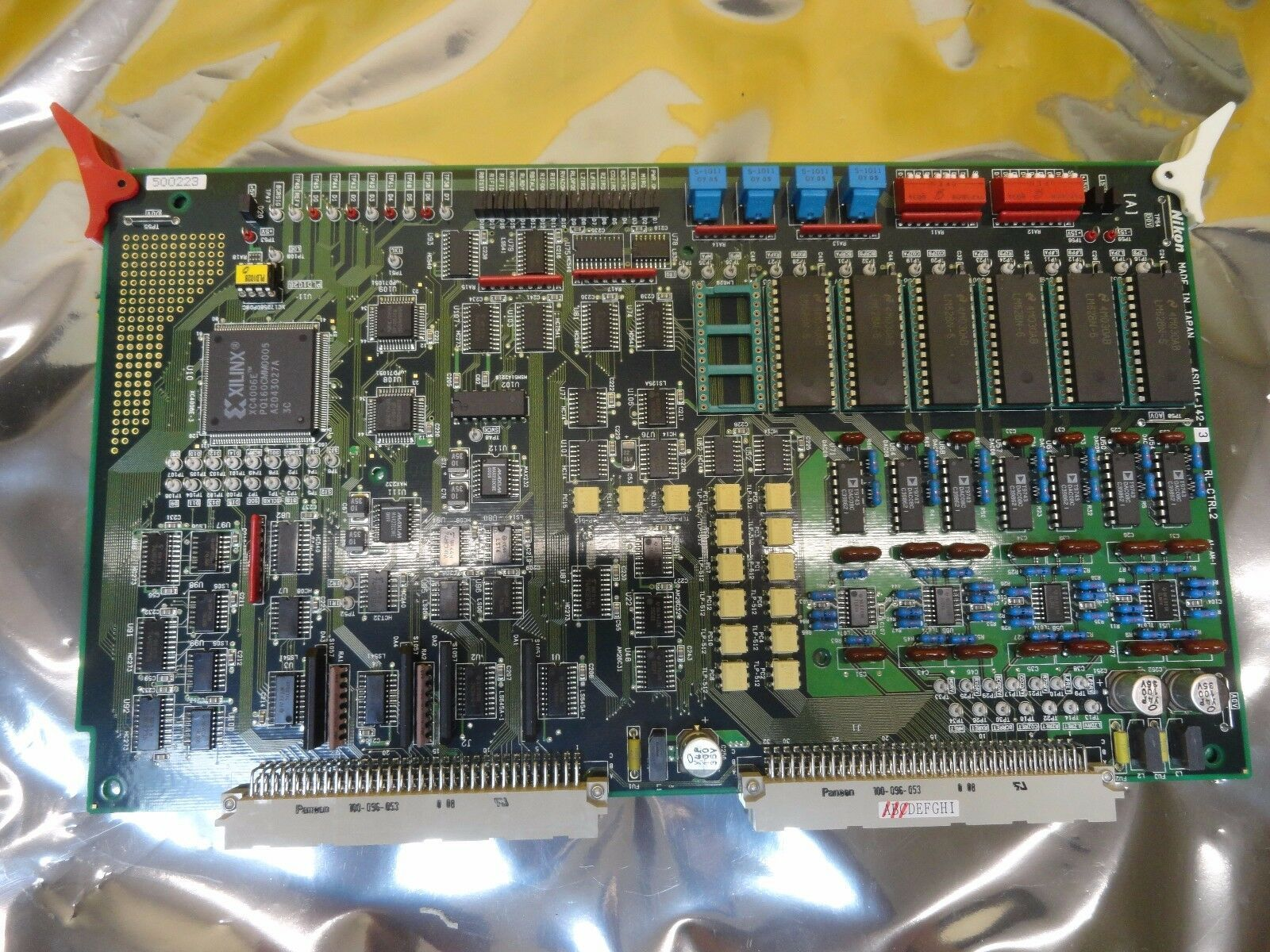 Nikon 4S014-142-3 Control Board PCB RL-CTRL2 NSR-S204B Step-and-Repeat Used