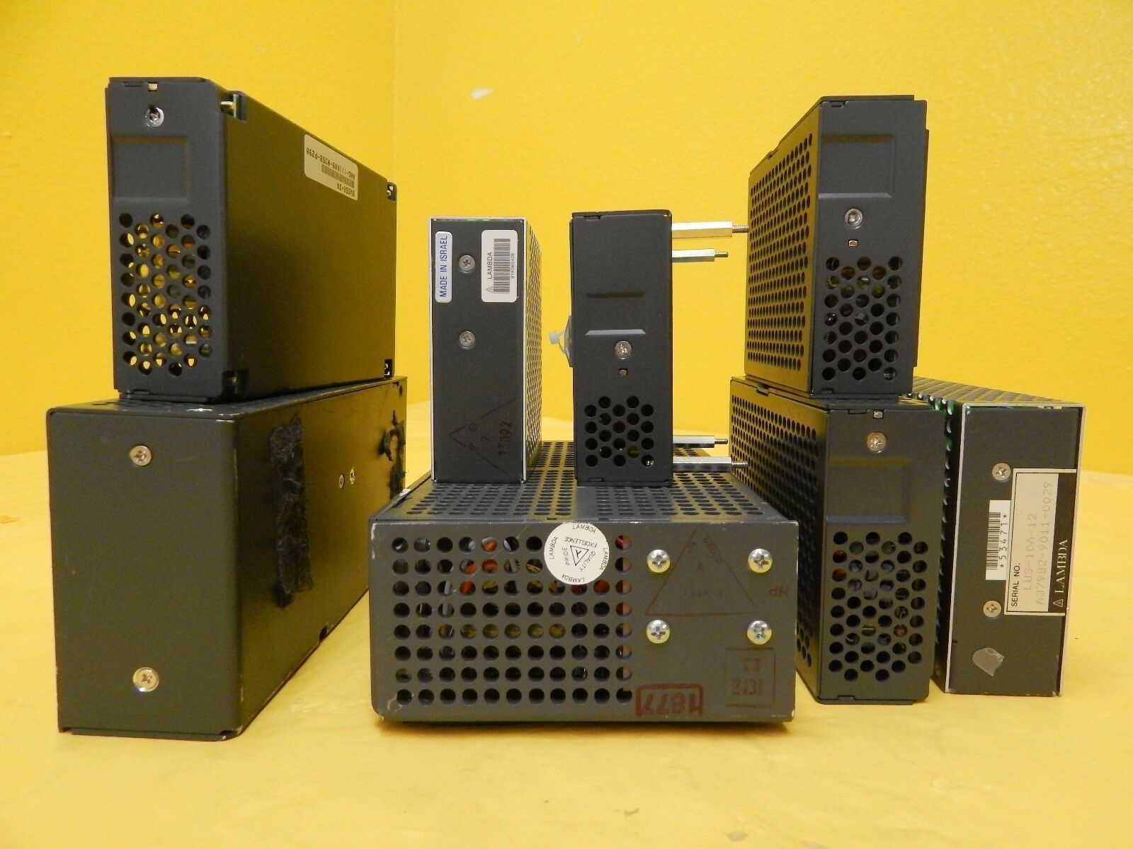 Nemic-Lambda EWS LUS Series Compact Power Supply Reseller Lot of 8 Used Working