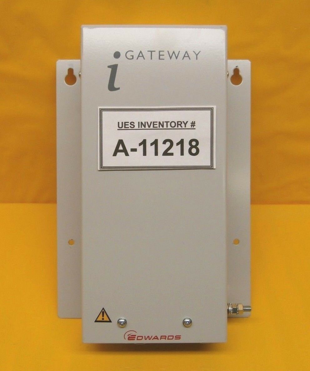 Edwards D37374400 iGateway Pump LON to Ethernet Synergis Module Used Working