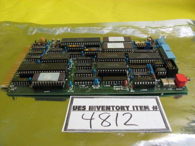 BTU Engineering 3181180 Video Interface Board PCB Card EPROM V2.1 Used Working