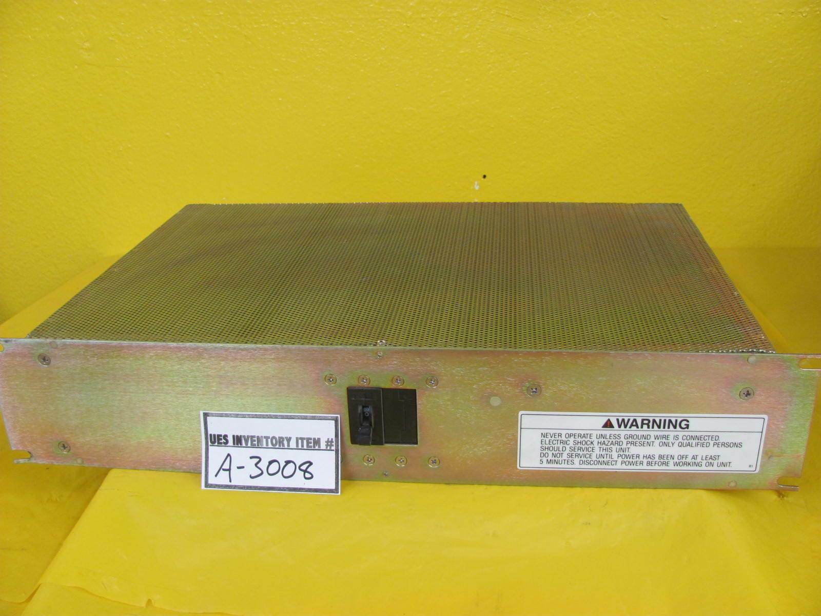 Westcor WE-100-1F/E-SCH DC Power Supply Rev. A Used Working