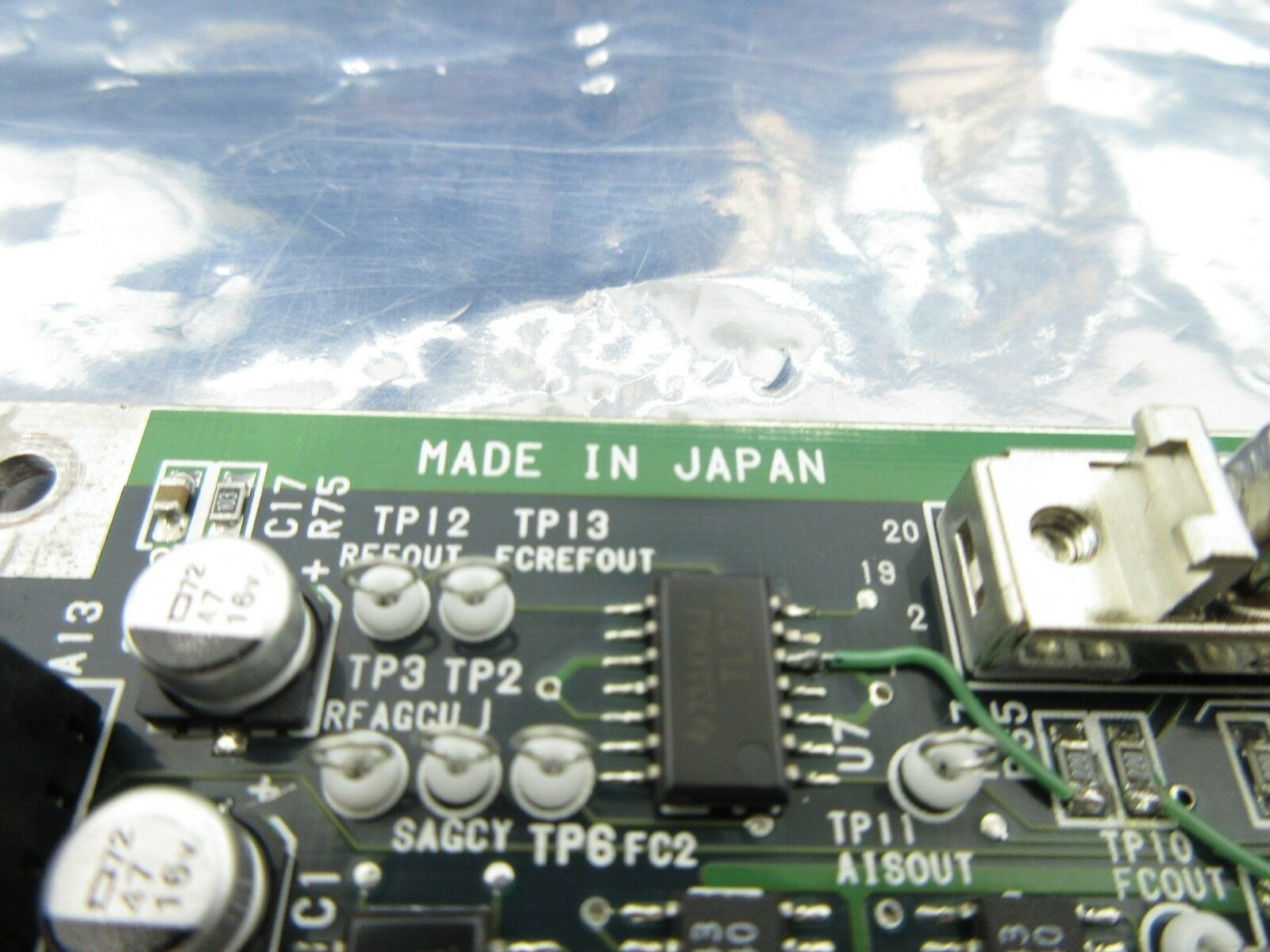 Nikon 4S007-843 Interface Board PCB EX-AIS NSR-S202A Used Working