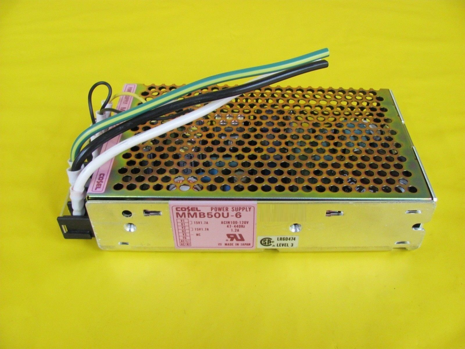 Sanken Electric MLT-DCBOX5 Power Supply Assembly MMB50U-6 TEL Unity II Used