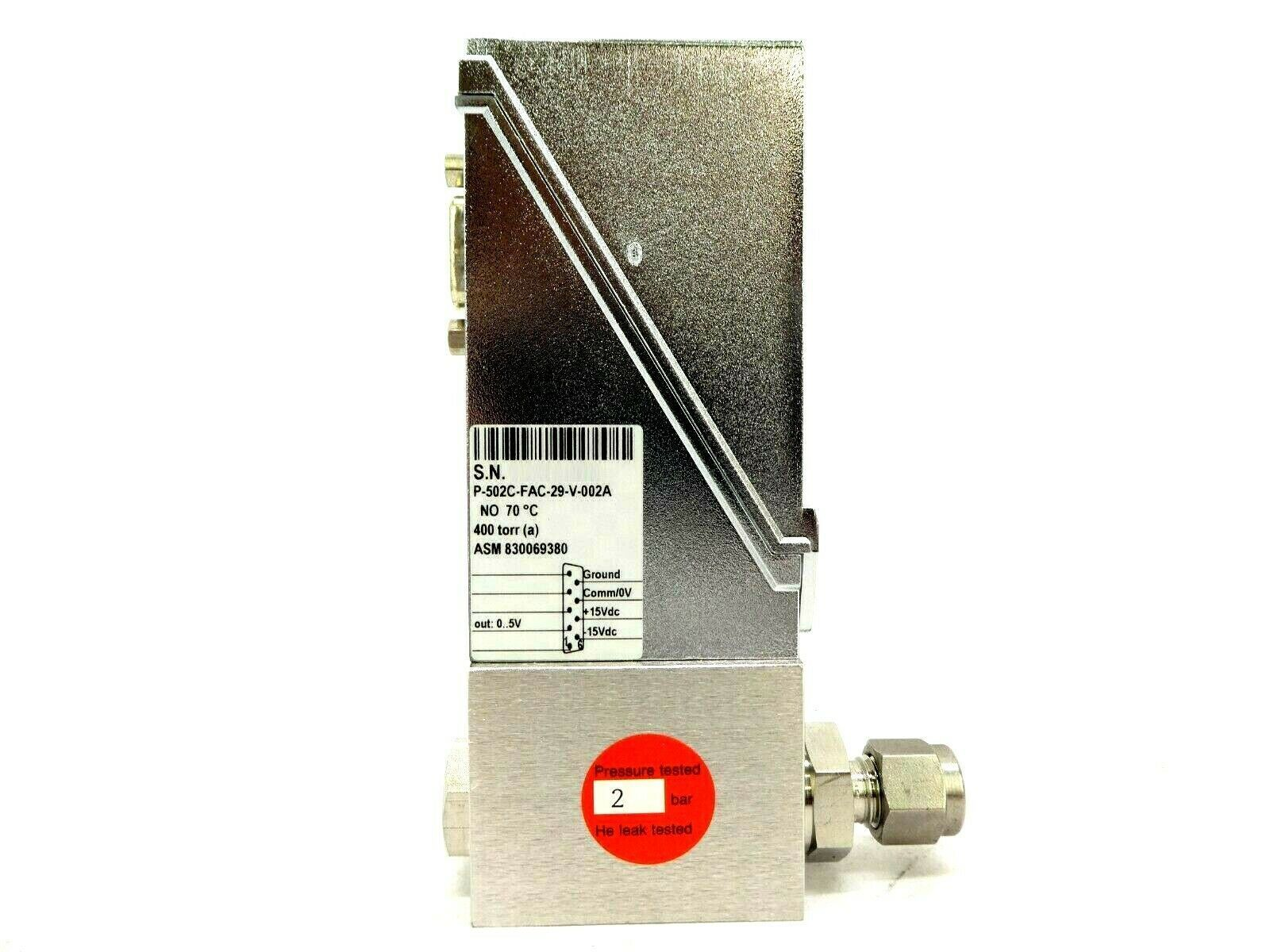 Bronkhorst P-502C-FAC-29-V-002A Pressure Controller EL-PRESS ASM 830069380 New