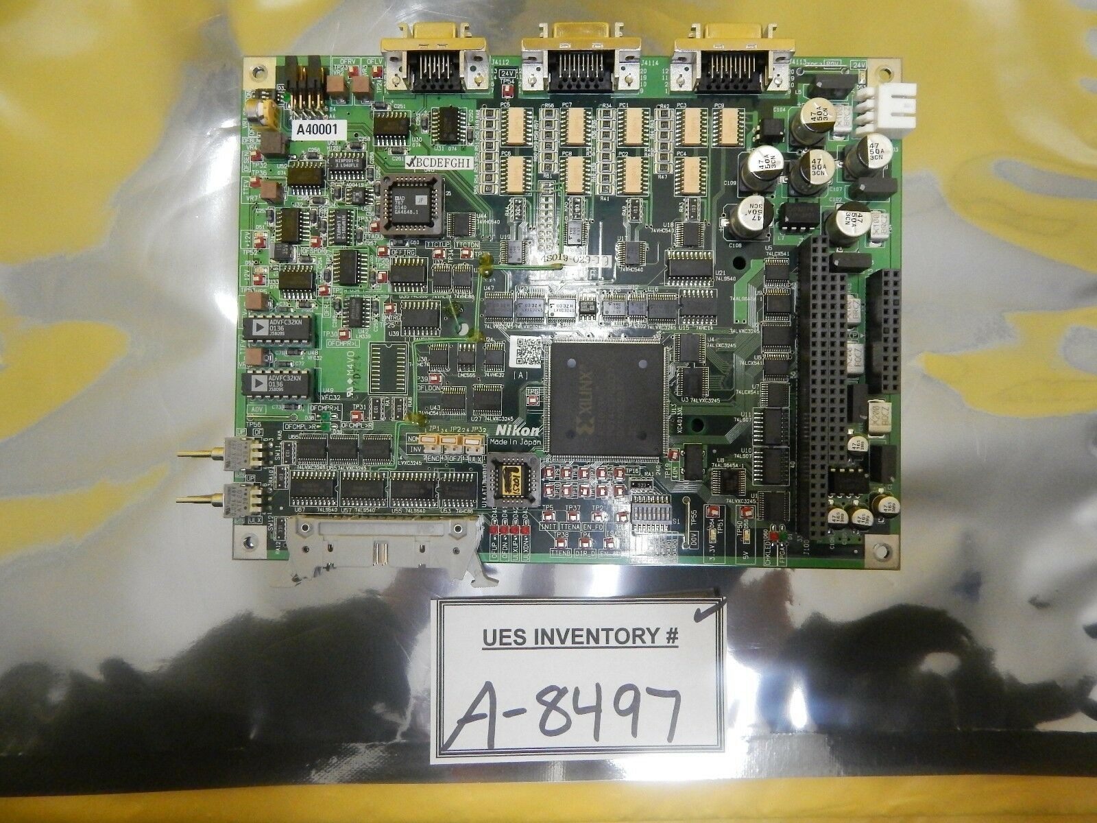 Nikon 4S019-029-1 Prealigner 1 Interface Board PRE1_I/F PCB Used Working
