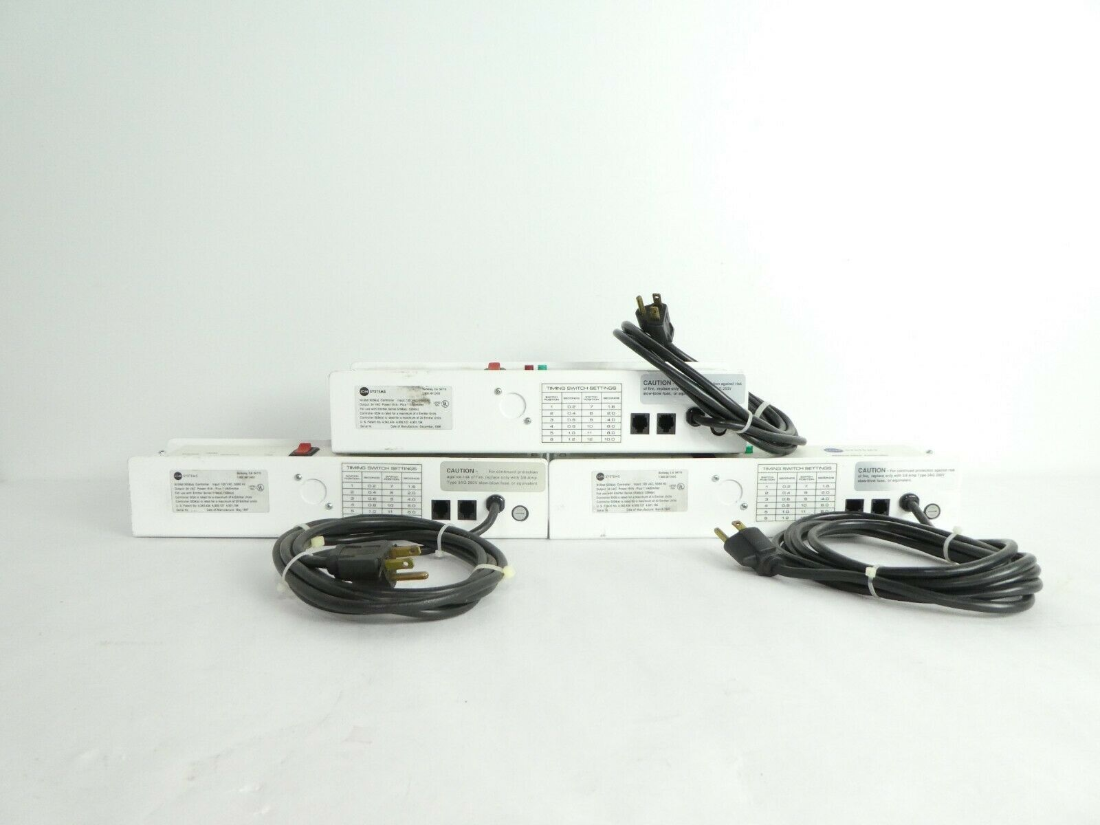 Ion Systems NilStat 5024(e) Controller Reseller Lot of 3 Used Working