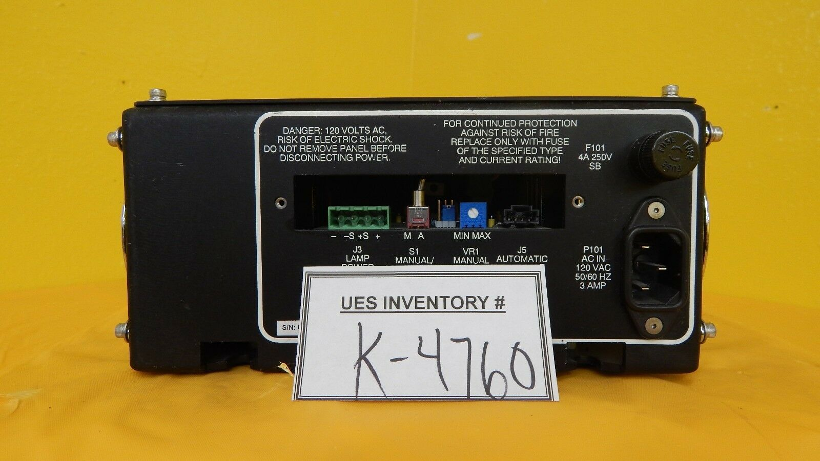 Ultrapointe 001004 White Light Power Supply Module KLA-Tencor Used Working