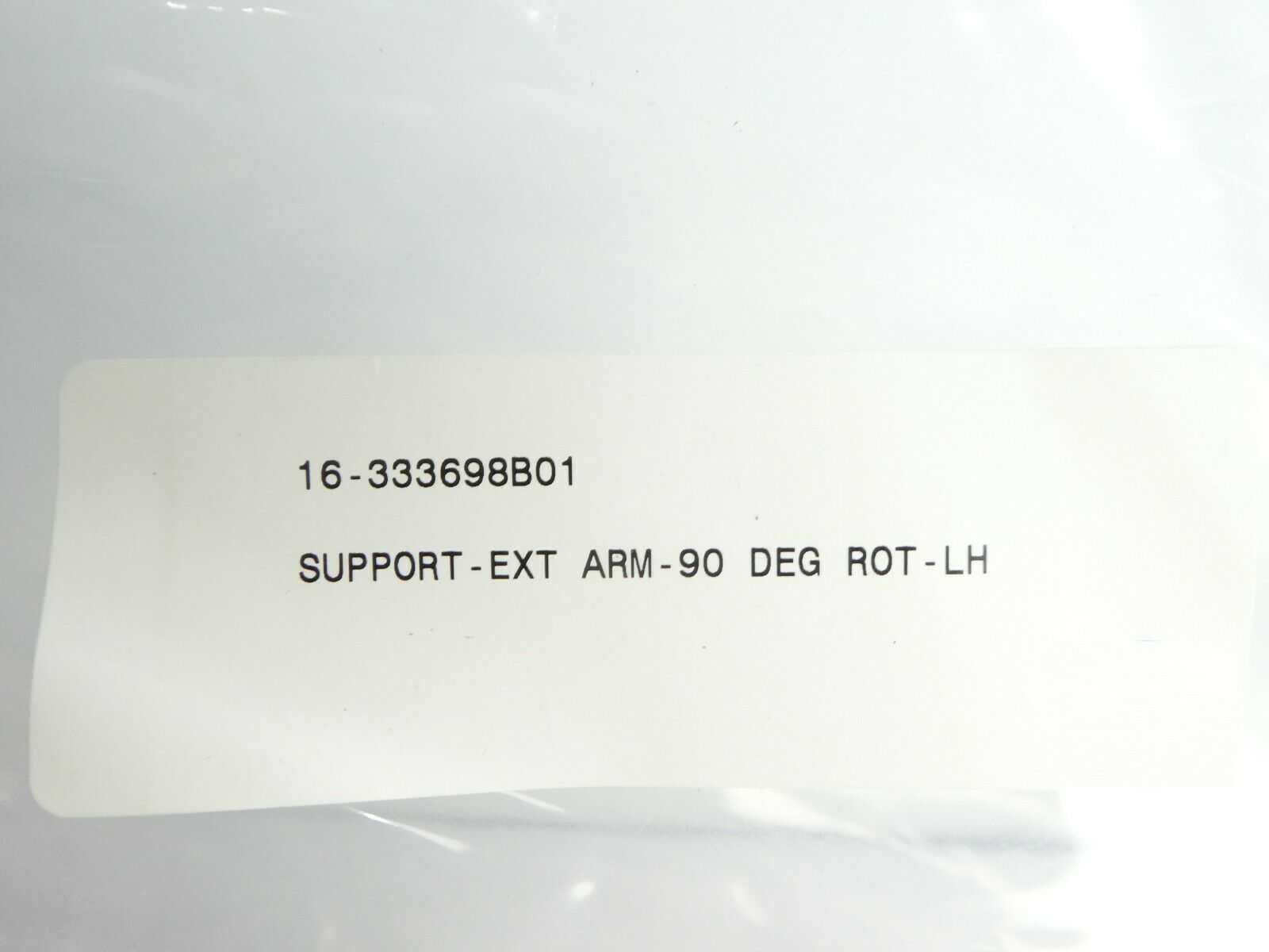 ASM Advanced Semiconductor Materials 16-333698B01 LH 90° Support Arm New Surplus