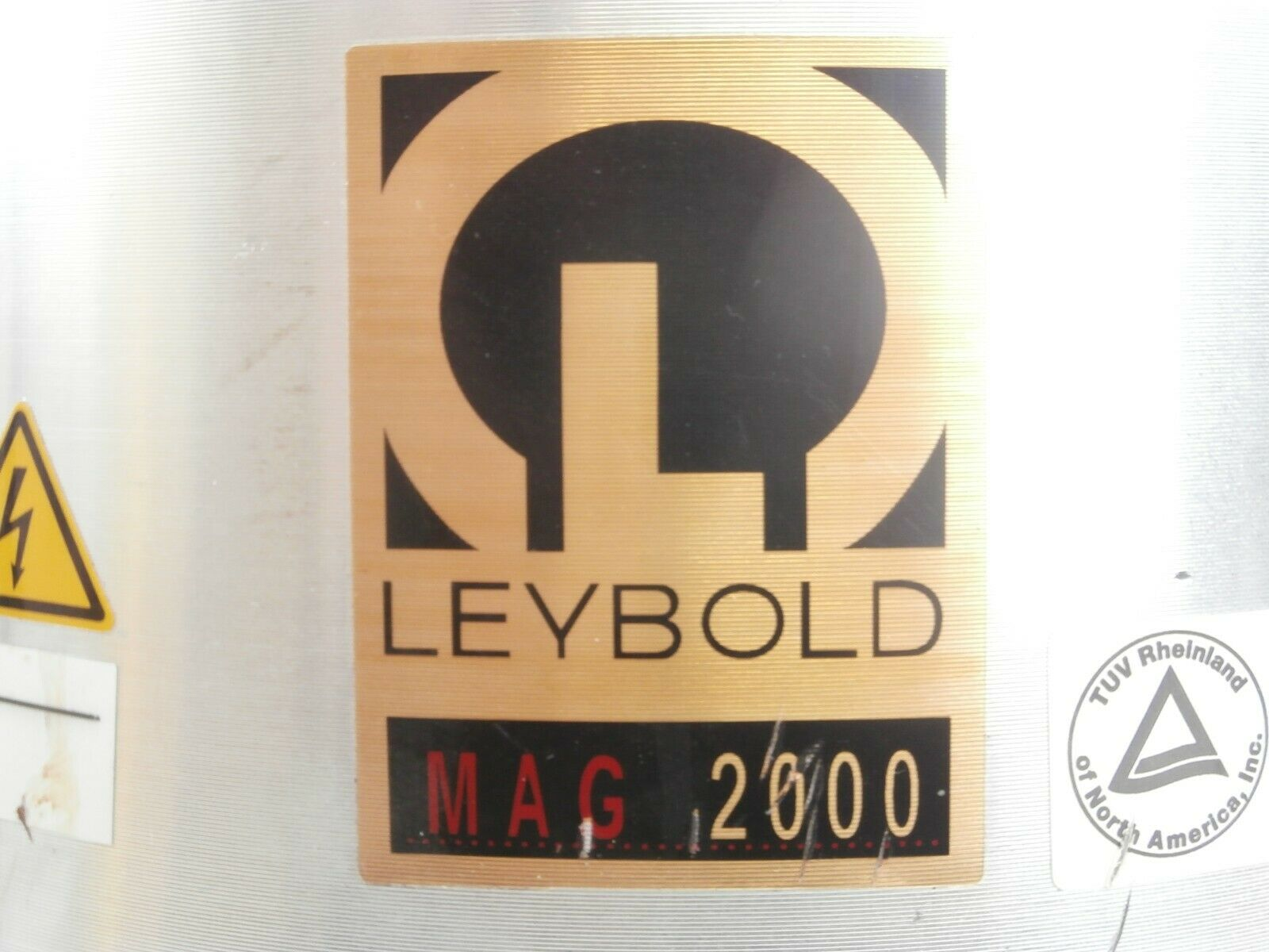 MAG 2000 Leybold 12131 Turbomolecular Pump Turbo 58047 Hours Tested Working