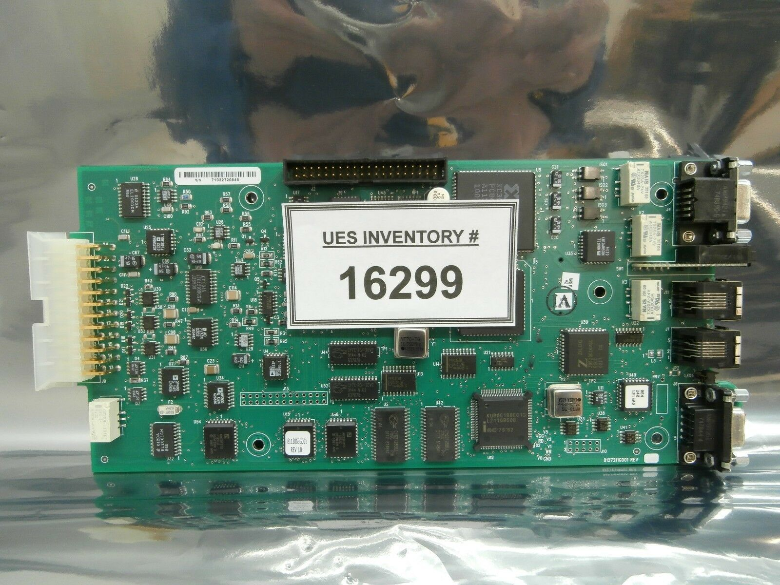 Helix Technology 8127211G001 Logic Board PCB 8127210G001 CTI-Cryogenics Used