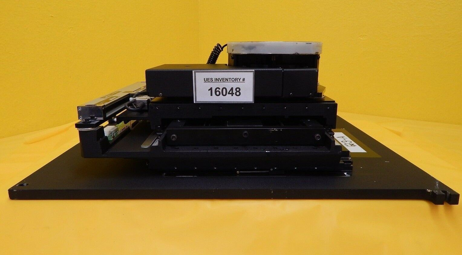 Signatone S460-USB Probe Station Stage XY-Base Assembly 0460-6069 Used Working