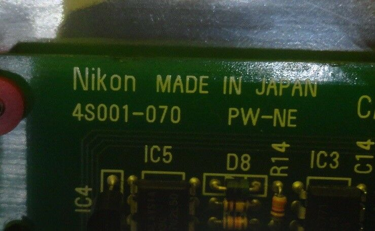 Nikon 4S001-070 Power Supply Card PCB PW-NE NSR-S202A Used Working