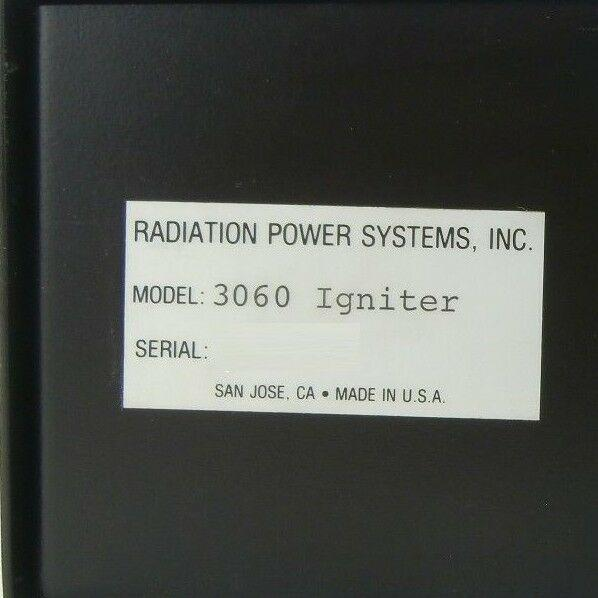 RPS Radiation Power Systems 3060 Igniter Module Ultratech 4700 Used Working