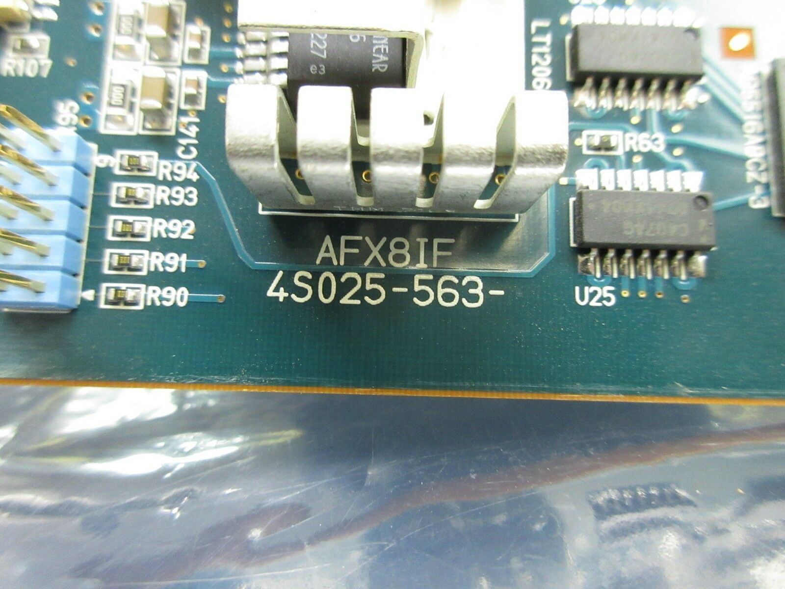 Nikon 4S025-563 Control PCB Card AFX8IF NSR System Used Working