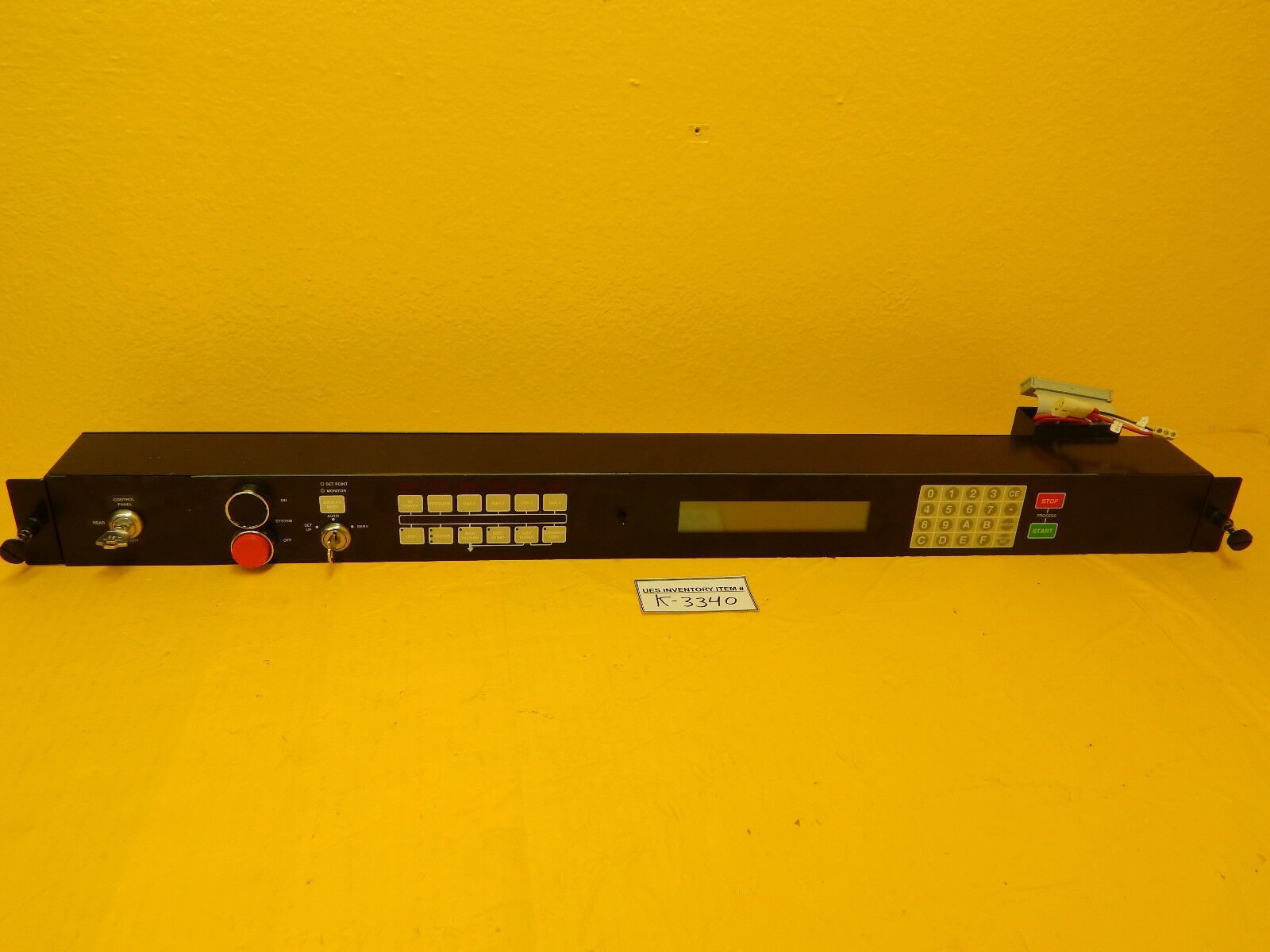 GaSonics A95-107-01-HV LED and Interface Control Panel Used Working