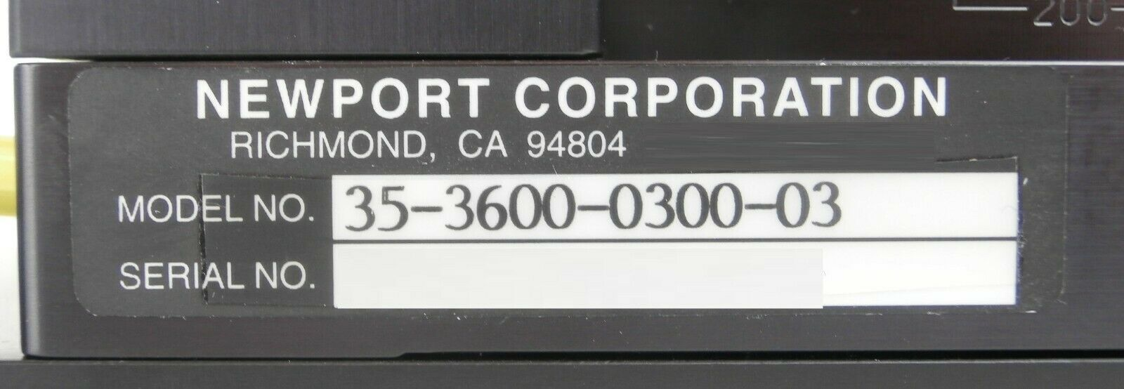 Newport 35-3600-0300-03 300mm Wafer Prealigner AMAT Endura PVD Working Spare