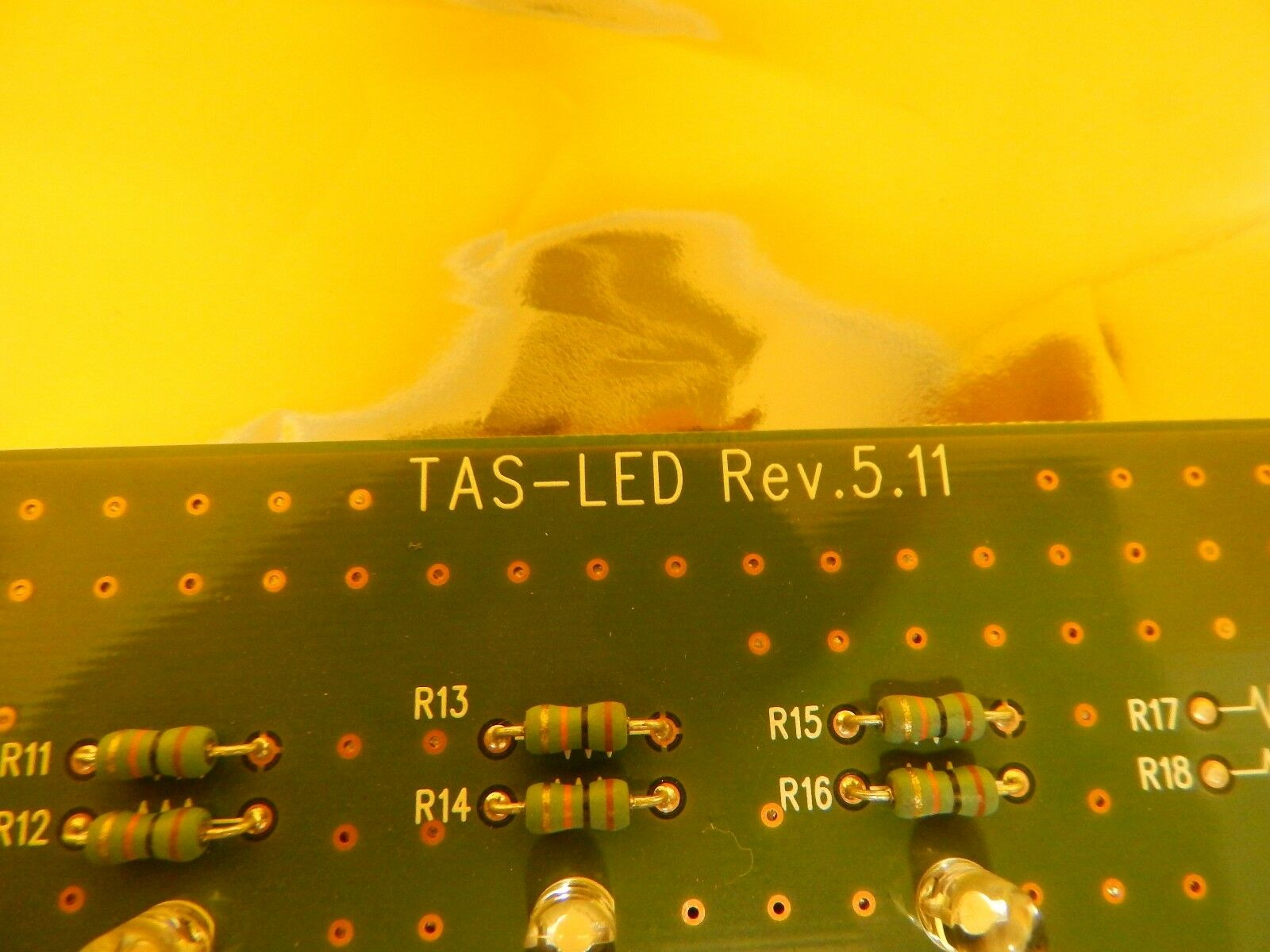 TDK TAS-LED Indicator Light Board PCB Rev. 5.11 300mm TAS300 Load Port Used